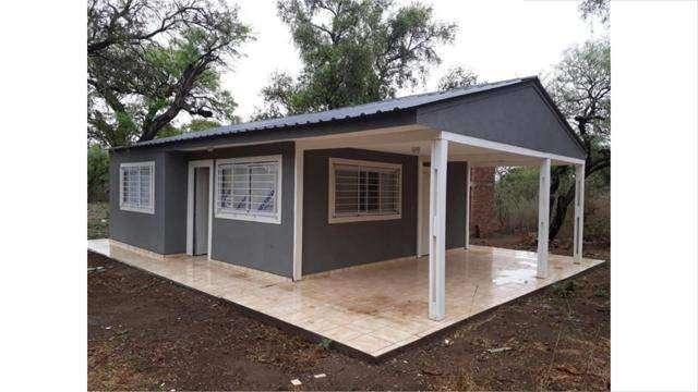 Casa 2 dormitorios Las Tapias Escritura Facilidades en pesos!