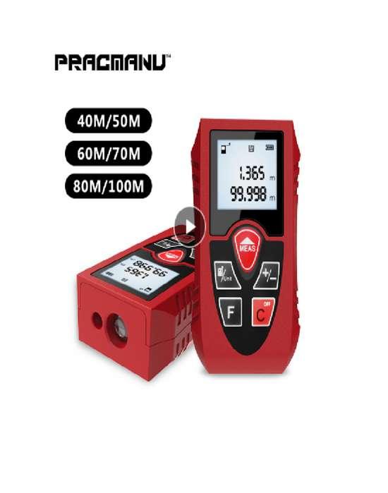 Medidor Distancias Laser 40 Metros, Área, Volúmen Kxl 3043426763