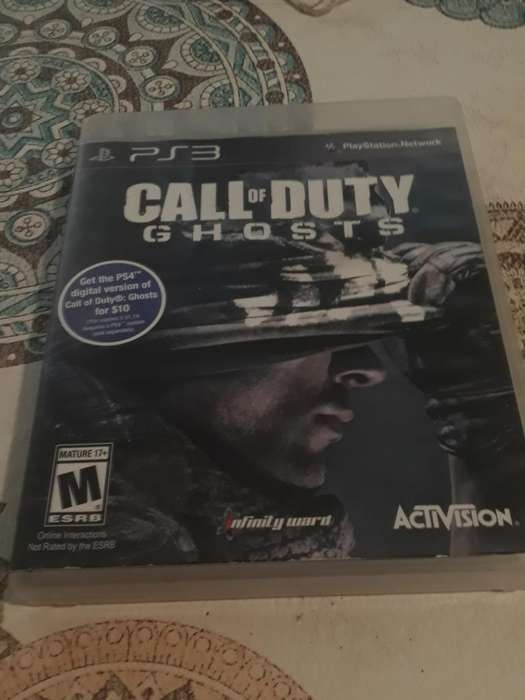 Call Of Duty Ghosts Ps3 en Español