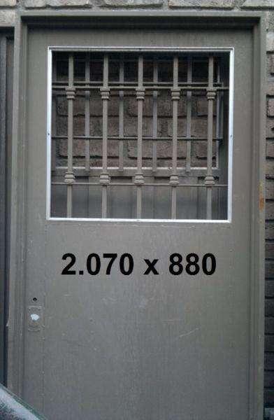 <strong>puertas</strong> para calle o patio chapa 18 8000