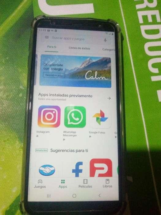 Celular Samsung J4 Libre Impecable