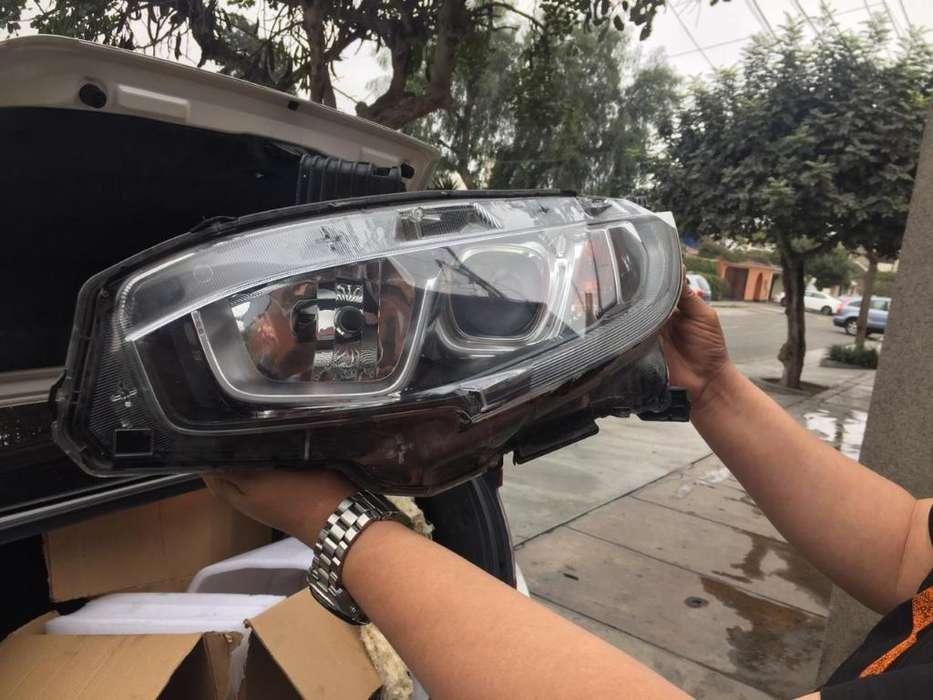 Faros Delanteros Honda Civic