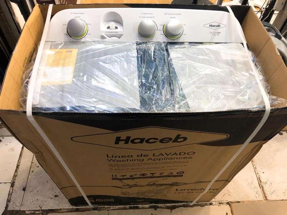Lavadora Haceb 7K Semiautomatic