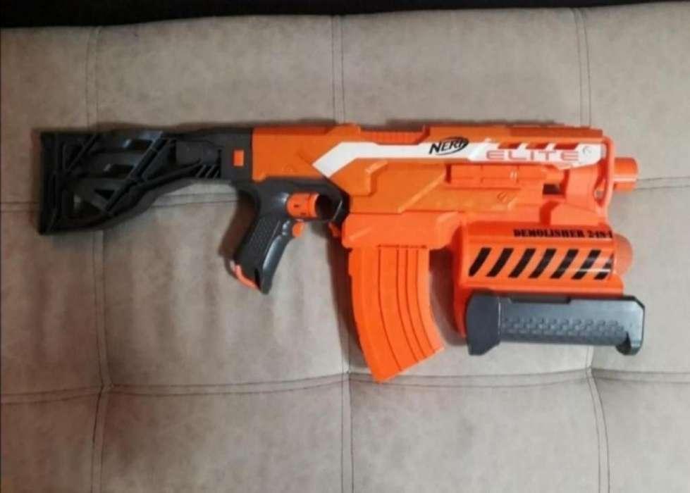 Vendo Pistola Nerf