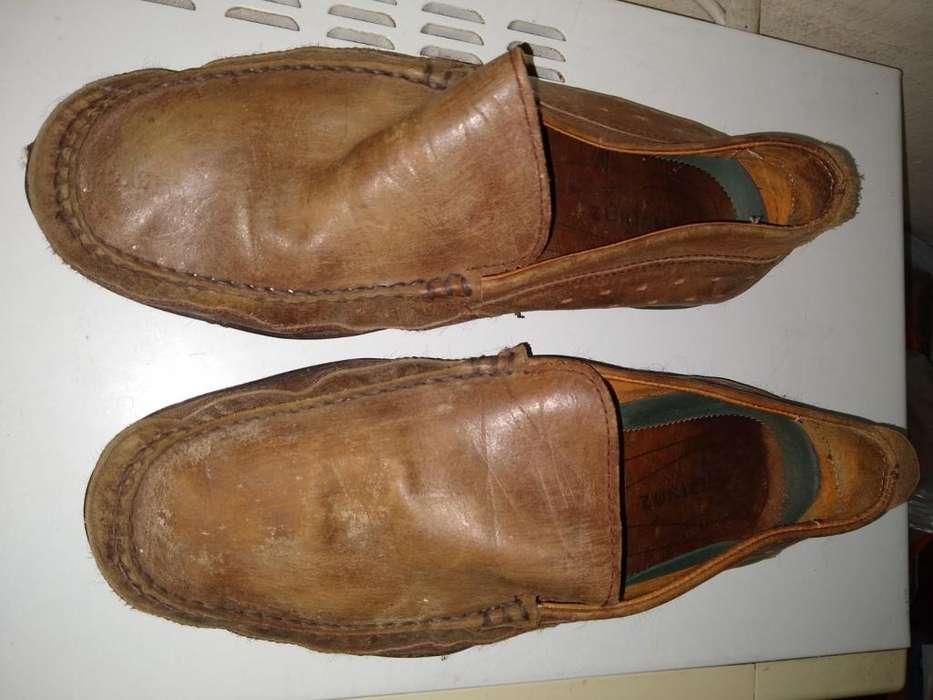 Zapatos MOCASIN Zurich 45 Cuero MARRON CLARO usado