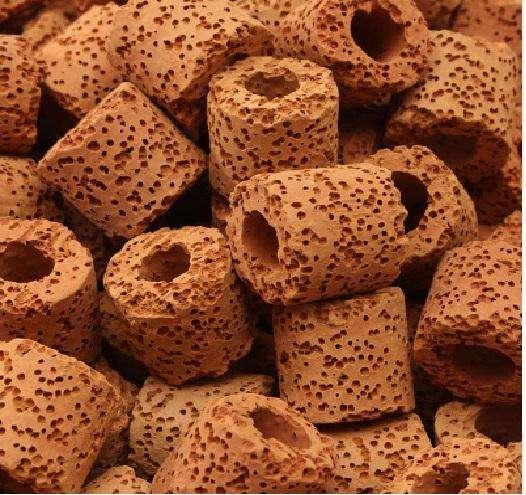 cerámica bio poroso filtro biológicos peces de acuario