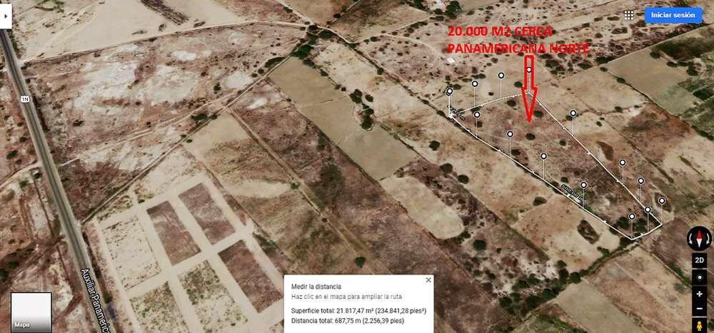 remato terreno entre morrope y Lambayeque a 500 ml de la panamericana norte S/.130.000 soles todo