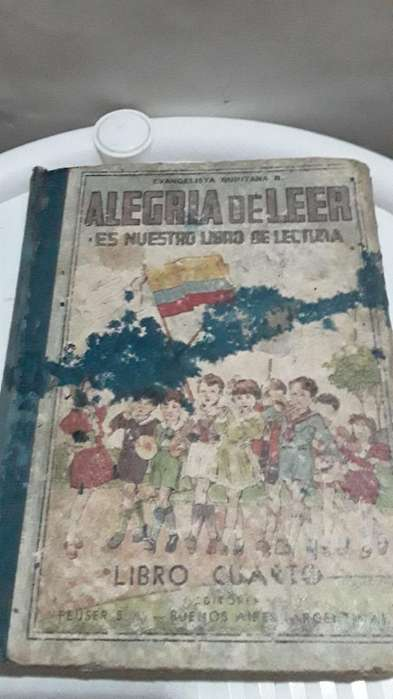Antigua Cartilla Alegria de Leer 4to