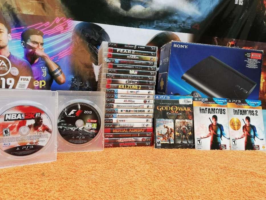 Colección Juegosoriginales Playstation 3