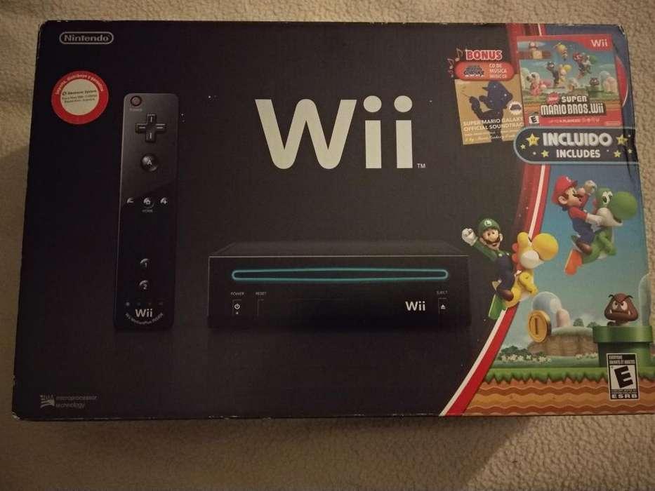 Nintendo Wii Black Nueva