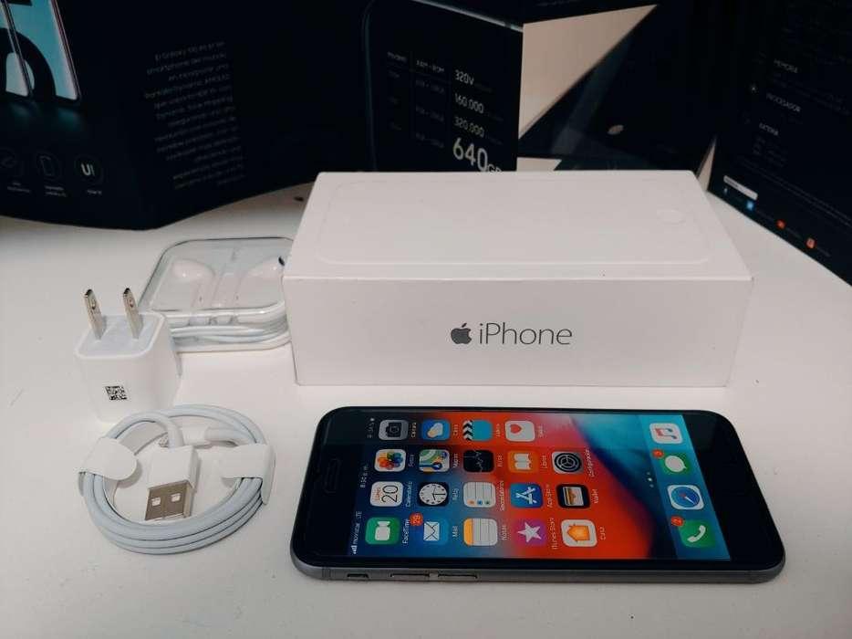 iPhone 6 Space Gray 32gb Nuevo