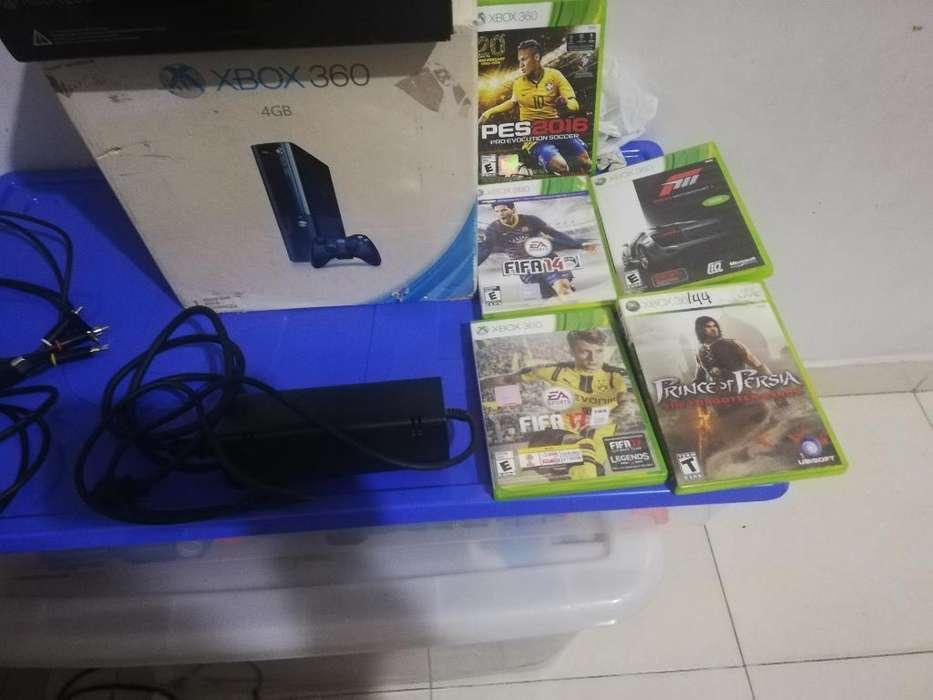 Se Vende Xbox Slim 360