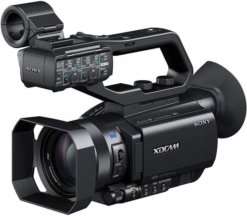 Sony Filmadora Profesional Xdcam Con Sensor Cmos 12xZoom
