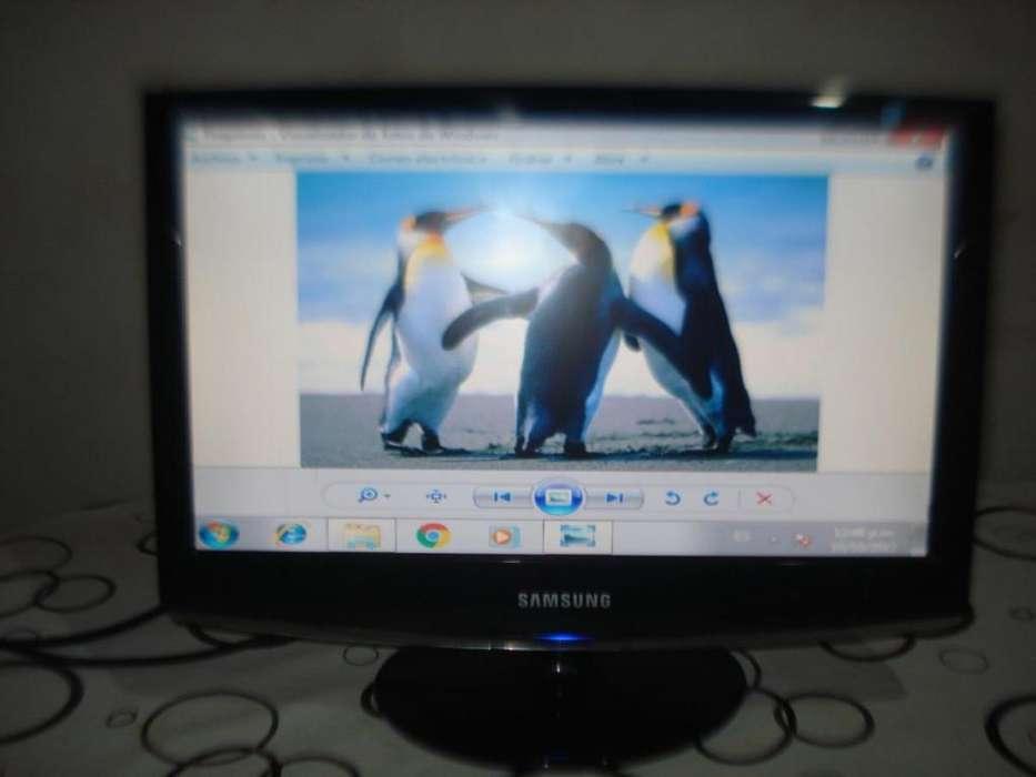 Monitor Lcd Samsung 19 Mod 933sn Plus Exc.calidad De Imagen!