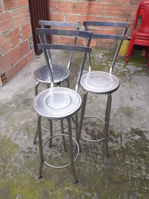 <strong>sillas</strong> de Barra Metalicas