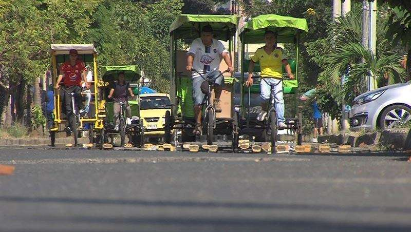BICI TAXIS CALI COLOMBIA