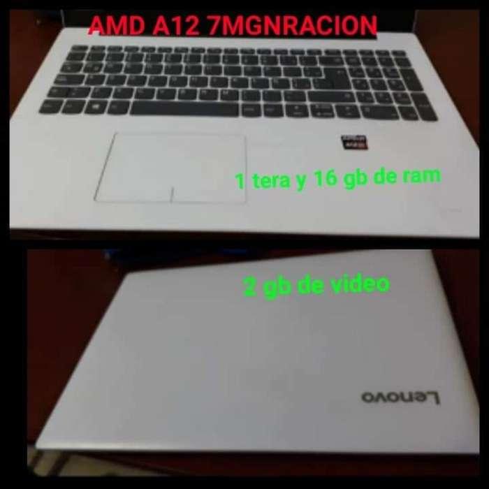 Lenovo Amda12 en Caja