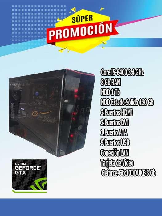 Cpu Gamer Core I5 8 Gen,ram8gb,dd1tb