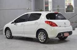 Peugeot 308 allure 1.6 nafta 2013 5 puertas color blanco