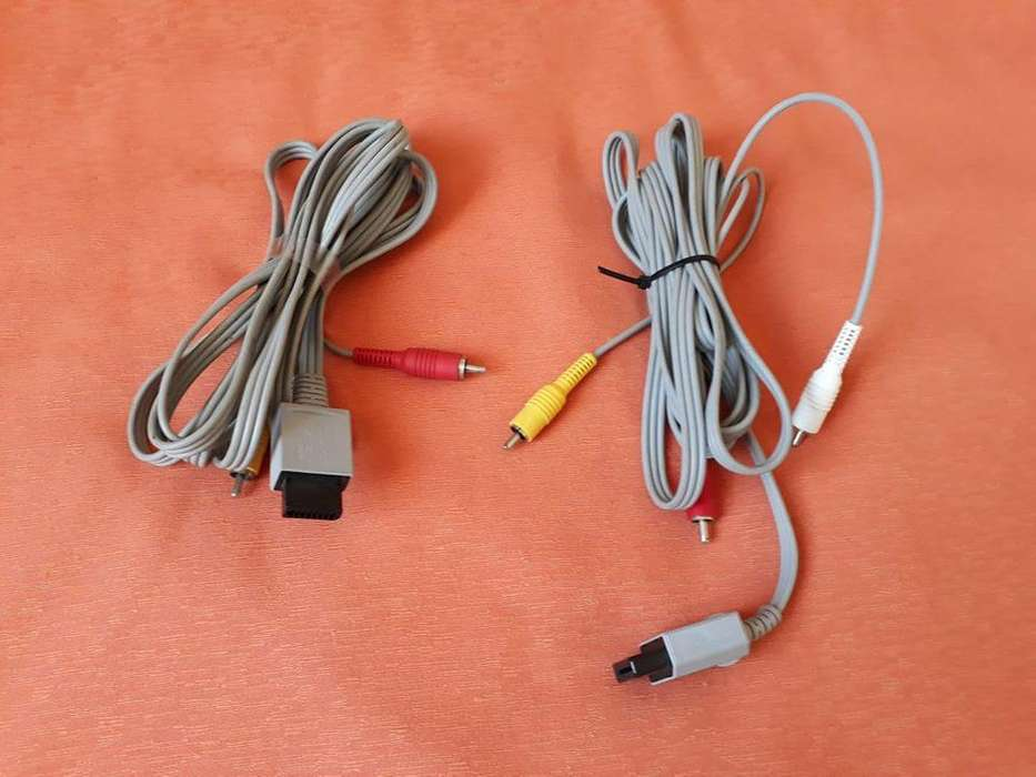 Cable Audio Video Nintendo Wii