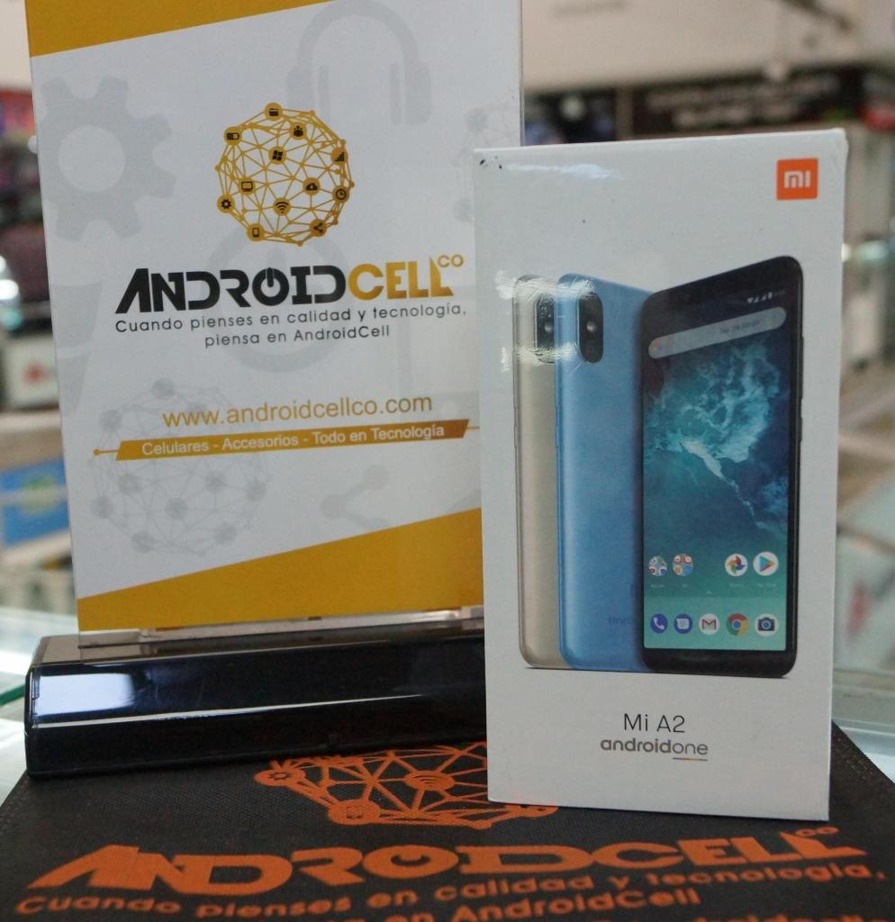 Xiaomi Mi A2 64GB - Nuevo, libre y garantizado - Domicilio sin costo en Bogotá.