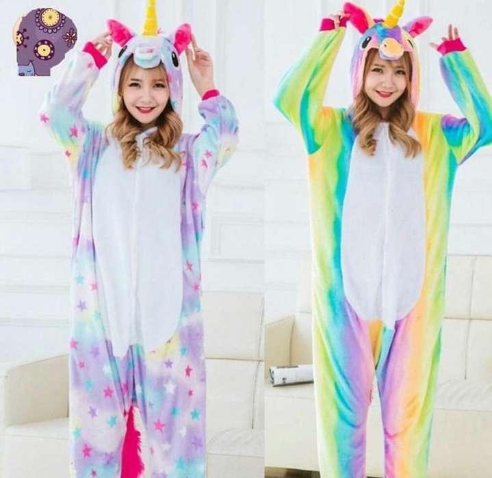 pijamas termicas unicornio multicolor