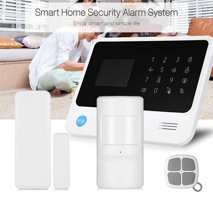 Alarmas Wifi Gsm Celular Sistema Monitoreo Seguridad Casa App