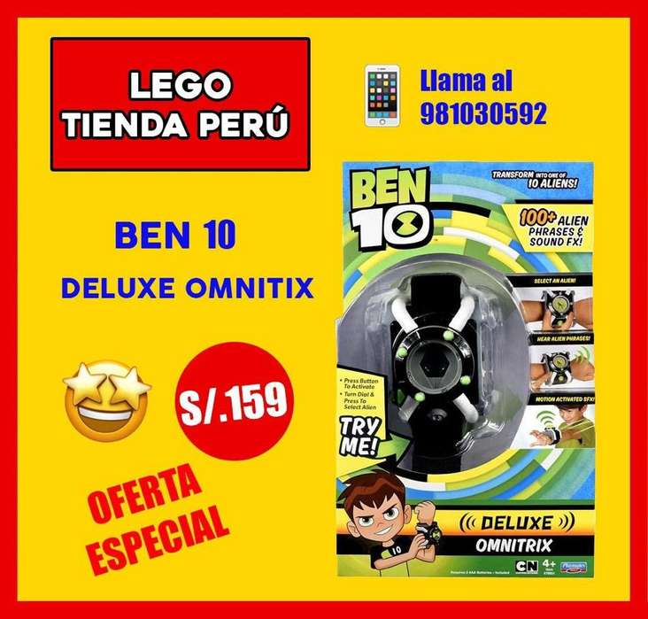 Ben 10 Omnitrix de Lujo Original Sellado