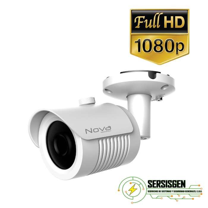 Cmara para exteriores HD 1080p metalica