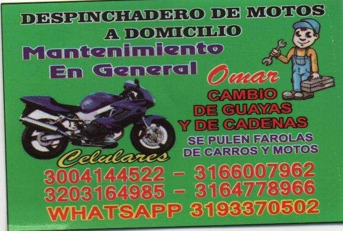 mecanico de motos y montallantas a domicilio en bucaramanga 3014826093