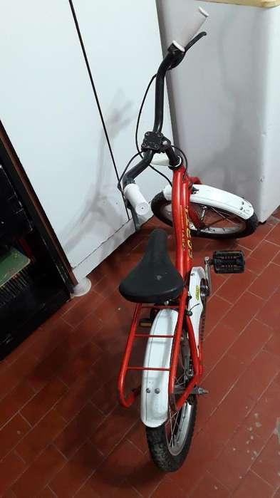 Vendo Bicicleta Rodado 14 en Buen Estado