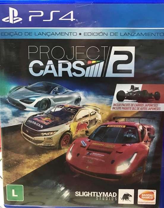 Juego Playstation 4 Project Cars 2 Nuevo