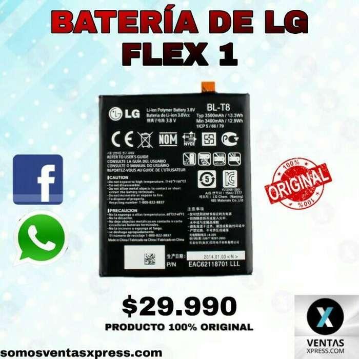 GRAN PROMOCIÓN XPRESS BATERÍA DE LG FLEX 1. 29.990