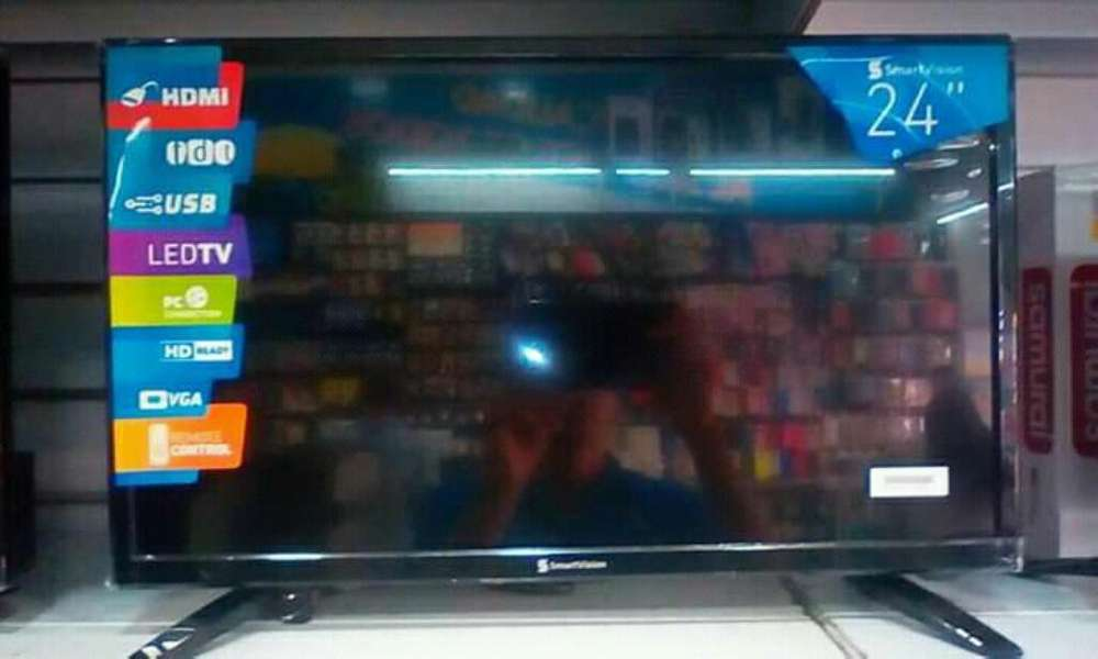 <strong>televisor</strong> Marca Smartvision 24 ''