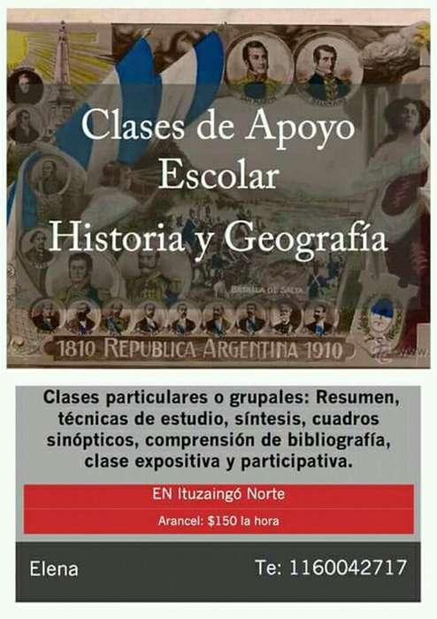 Clases de Historia Y Geografía