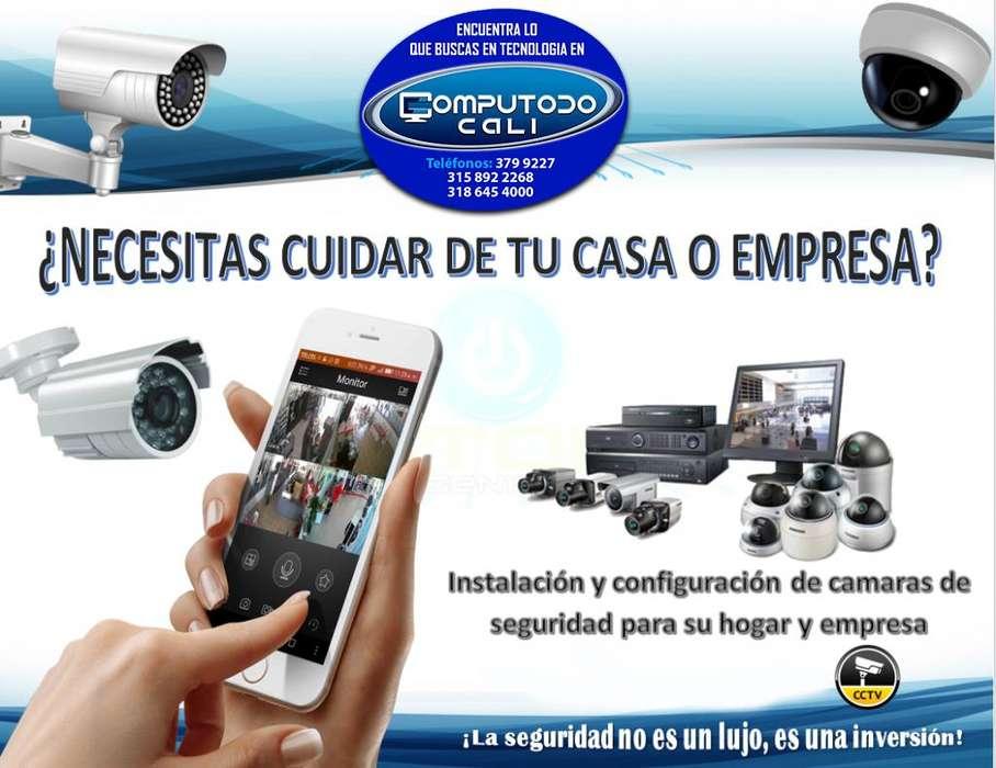Instalación, venta y configuración de cámaras de seguridad para hogar o empresa