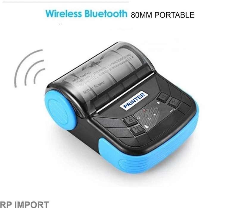 Impresora Térmica Portable bateria Bluetooth QR Tickets 80mm Oferta
