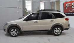 Fiat palio weekend 1.4 nafta 2010 5 puertas color champagne