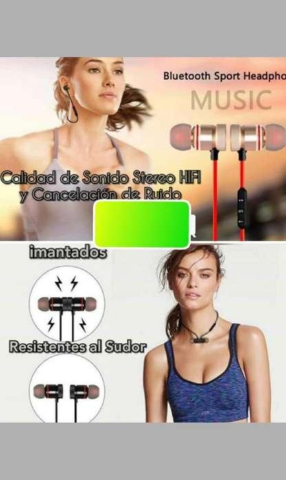 Audífonos Bluetooth Imantados
