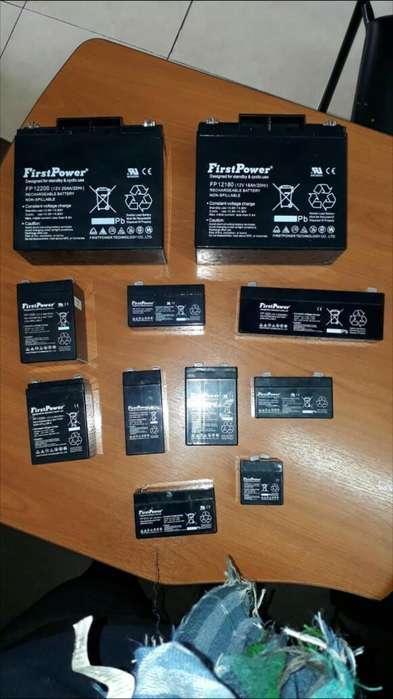 Baterias Secas Recargables Nuevas de Paq