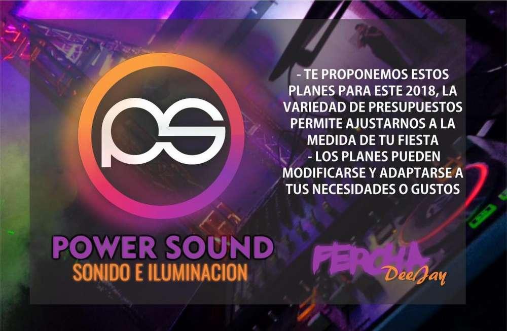 POWER SOUND Sonido e Iluminacion Fiestas y Eventos