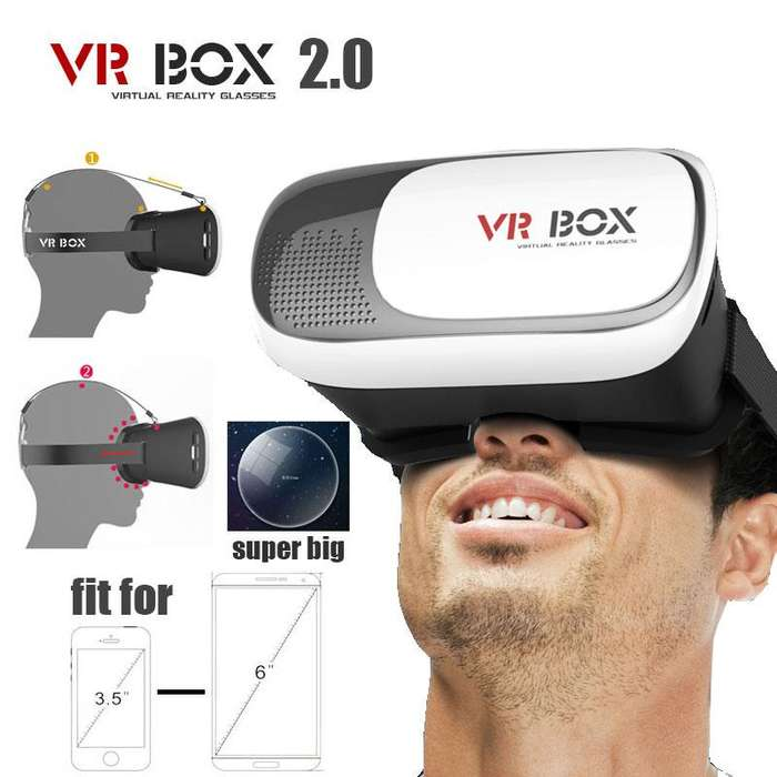 Gafas Realidad Virtual Vr Box Interzone