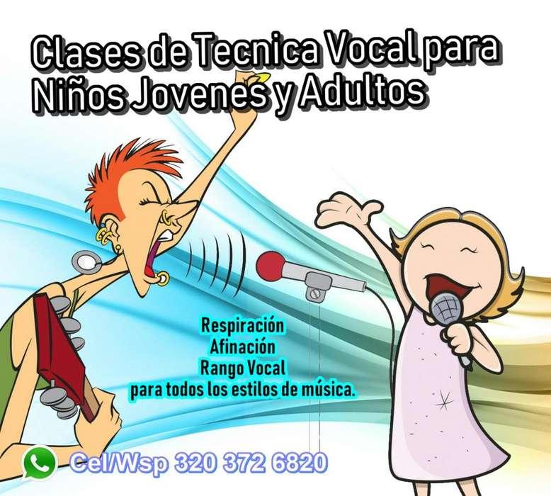 Clases de Canto/Tecnica Vocal