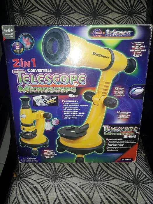 Kit Microscopio Y Telescopio