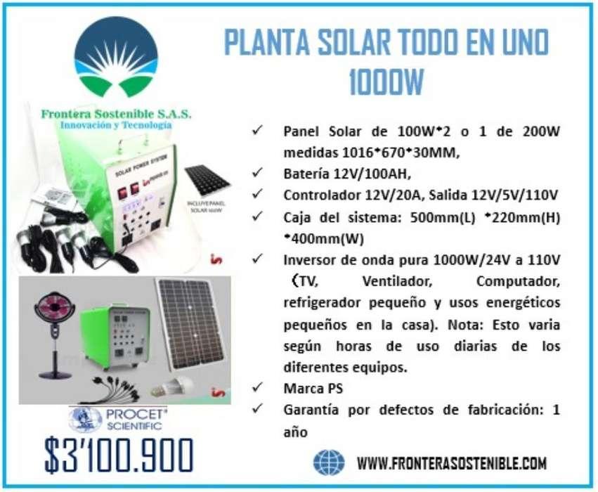Planta Solar 1000w