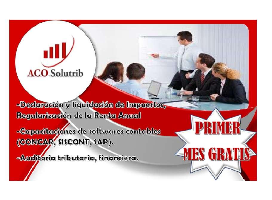 ESTUDIO CONTABLE/1ER MES GRATUITO/Nº927458258/CONTADOR/AUDITORIA