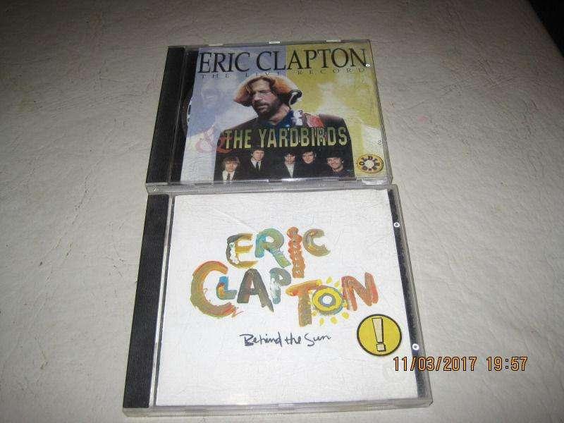 cds de Eric Clapton