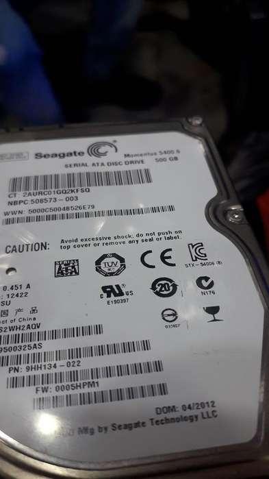 Disco de 500 Gb