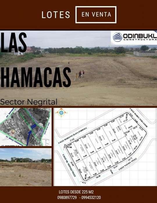 Venta de lotes en Portoviejo, sector el Negrital cerca de la Av. Reales Tamarindo