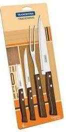 Set de cuchillos para cocina Tramontina churrasco 4p